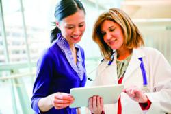 Doctors are more responsive to sales presentations given on iPads